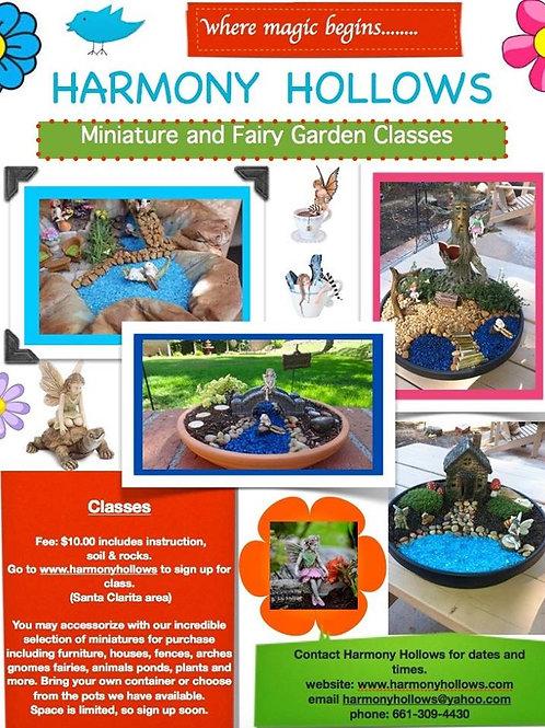 Miniature Garden Class - January 29th