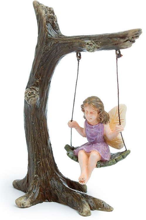 Fairy in Tree Swing