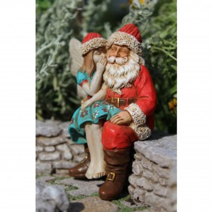 Fairy Adeline & Santa