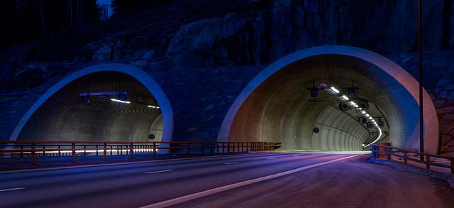 Tunnel und Unterführungen richtig beleuchten