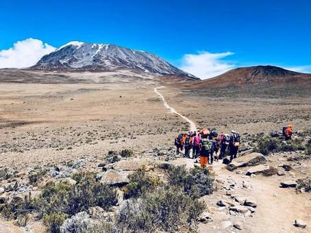 Objectif Kilimandjaro par Pompier Raid Aventure
