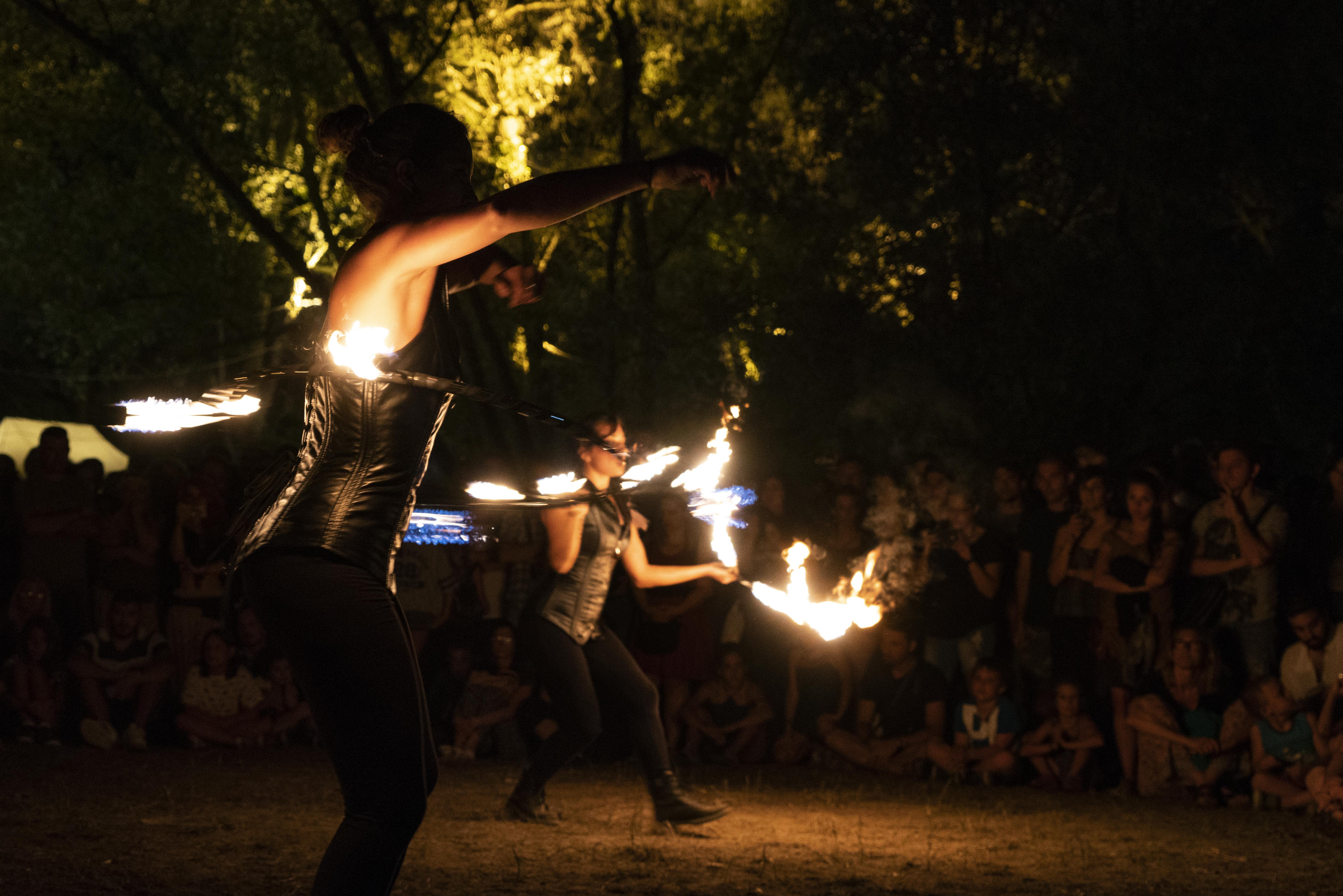 strie fire show giocoleria
