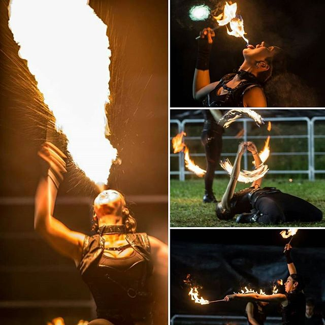 strie fire show sputafuoco