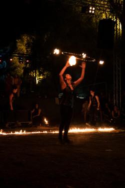 strie fire show hula hoop
