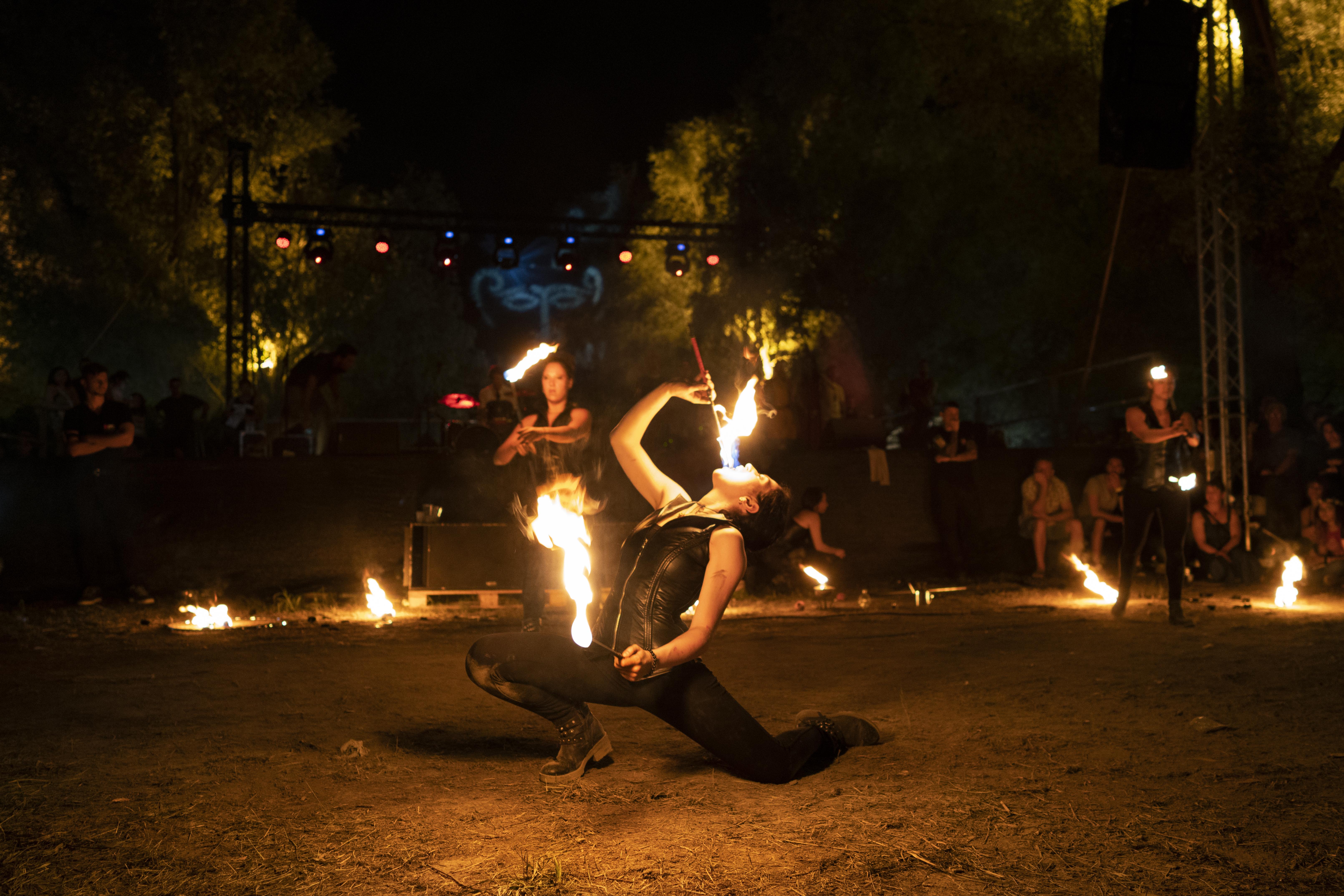 strie fire show Festival