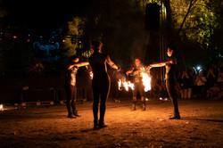 strie fire show - poi