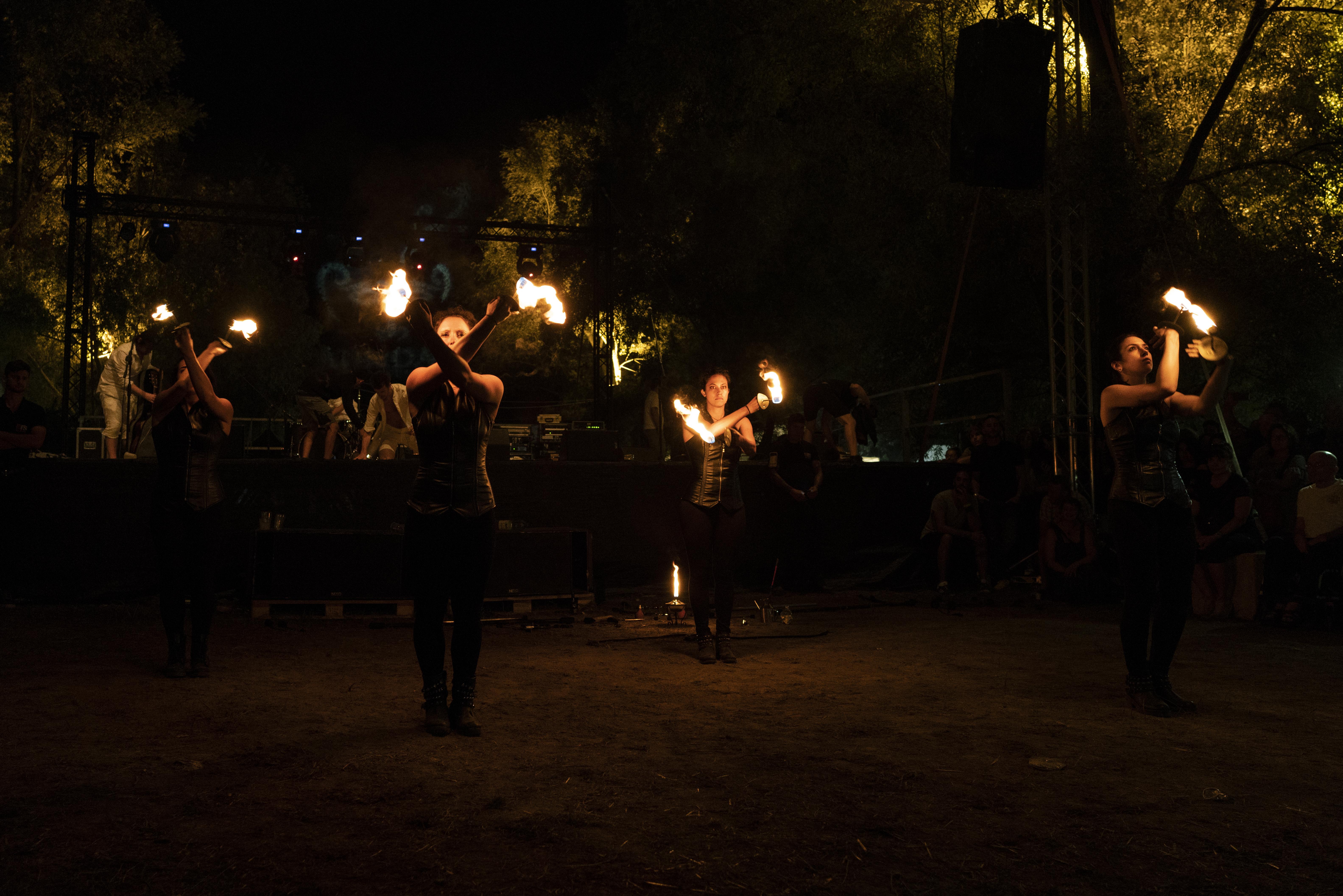 strie fire show - padova