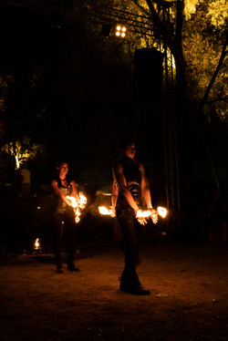 strie fire show - Veneto