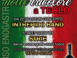 01.05.2017- Evento Strie Fire Show al Cafè Noir di Teolo