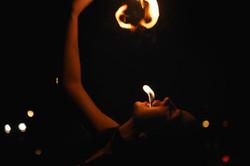 strie fire show mangiafuoco