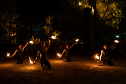strie fire show - coreografie