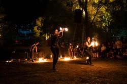 strie fire show Veneto