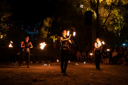 strie fire show coreografia