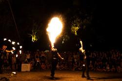 strie fire show - sputafuoco