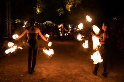 strie fire show bundan celtic fest