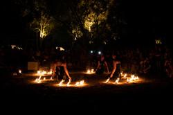 strie fire show - streghe fuoco