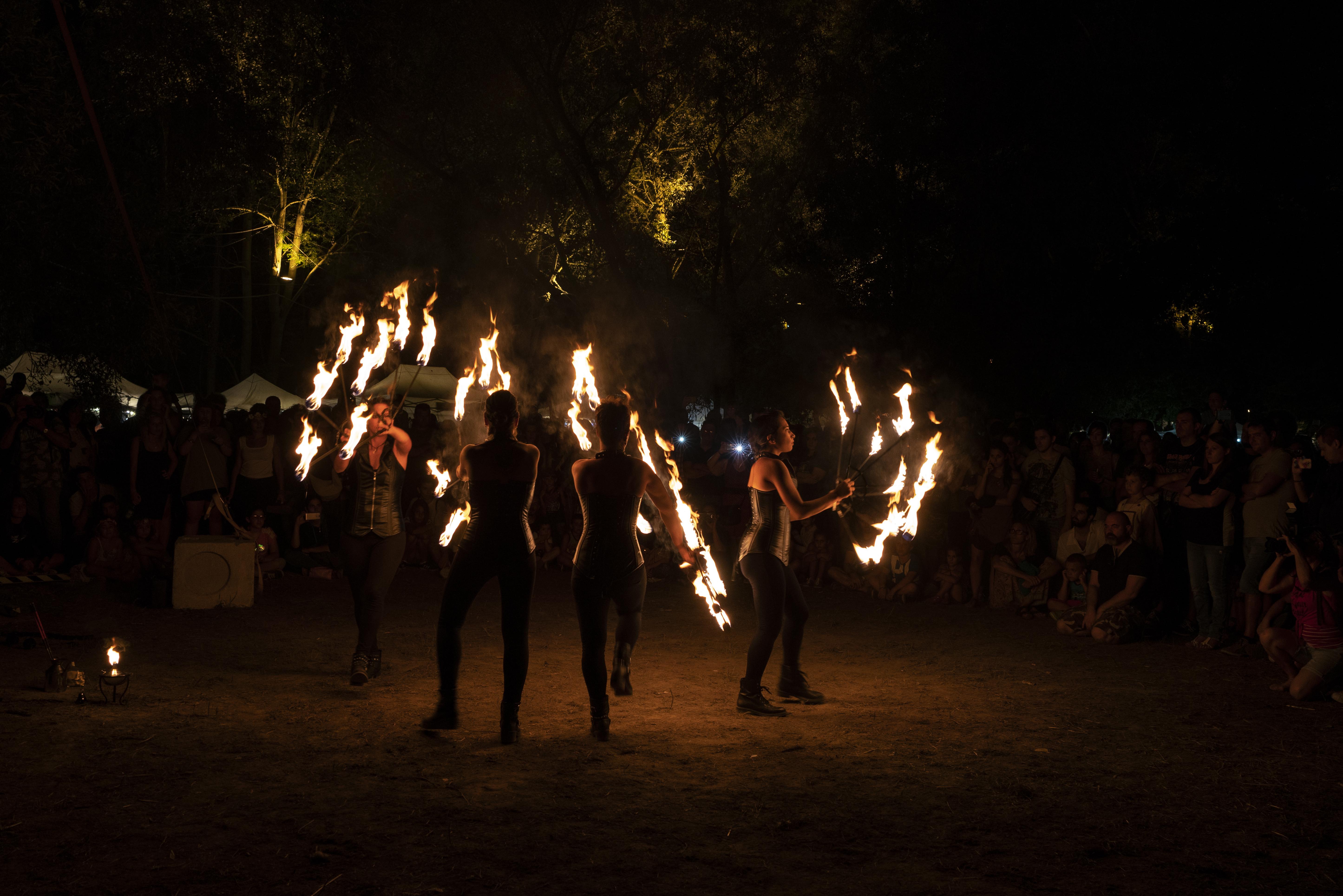 strie fire show - Bundan Celtic Fest