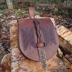 viking birka pouch