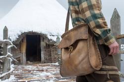 Scottish Deerskin Crannog Bag