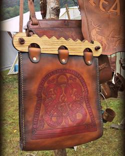 viking runestone haithabu bag