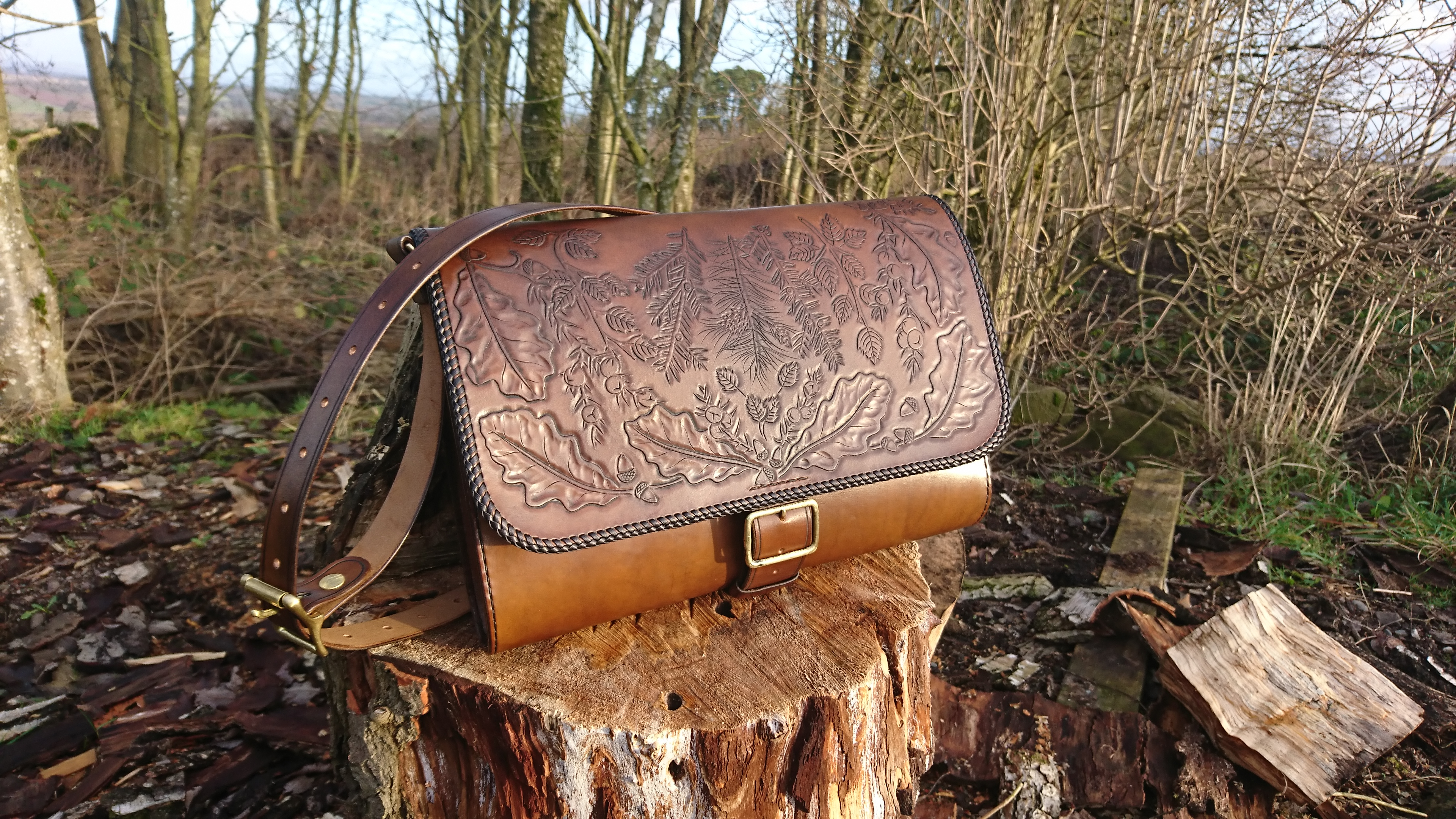 Native trees satchel