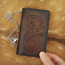 Norse Wyrm Long Wallet