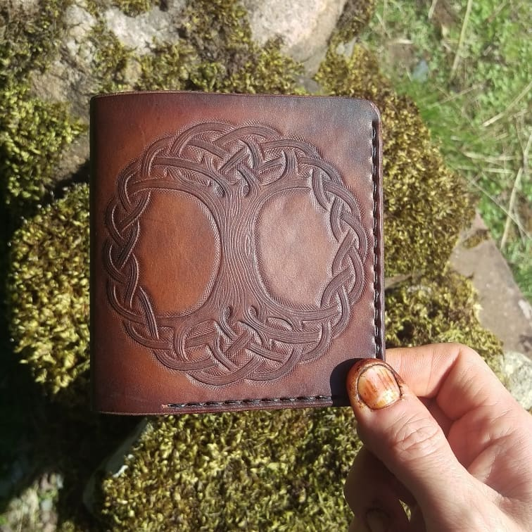 Tree of life wallet