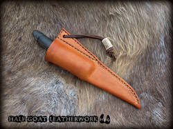 Viking knife sheath