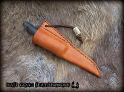 Viking knife sheath