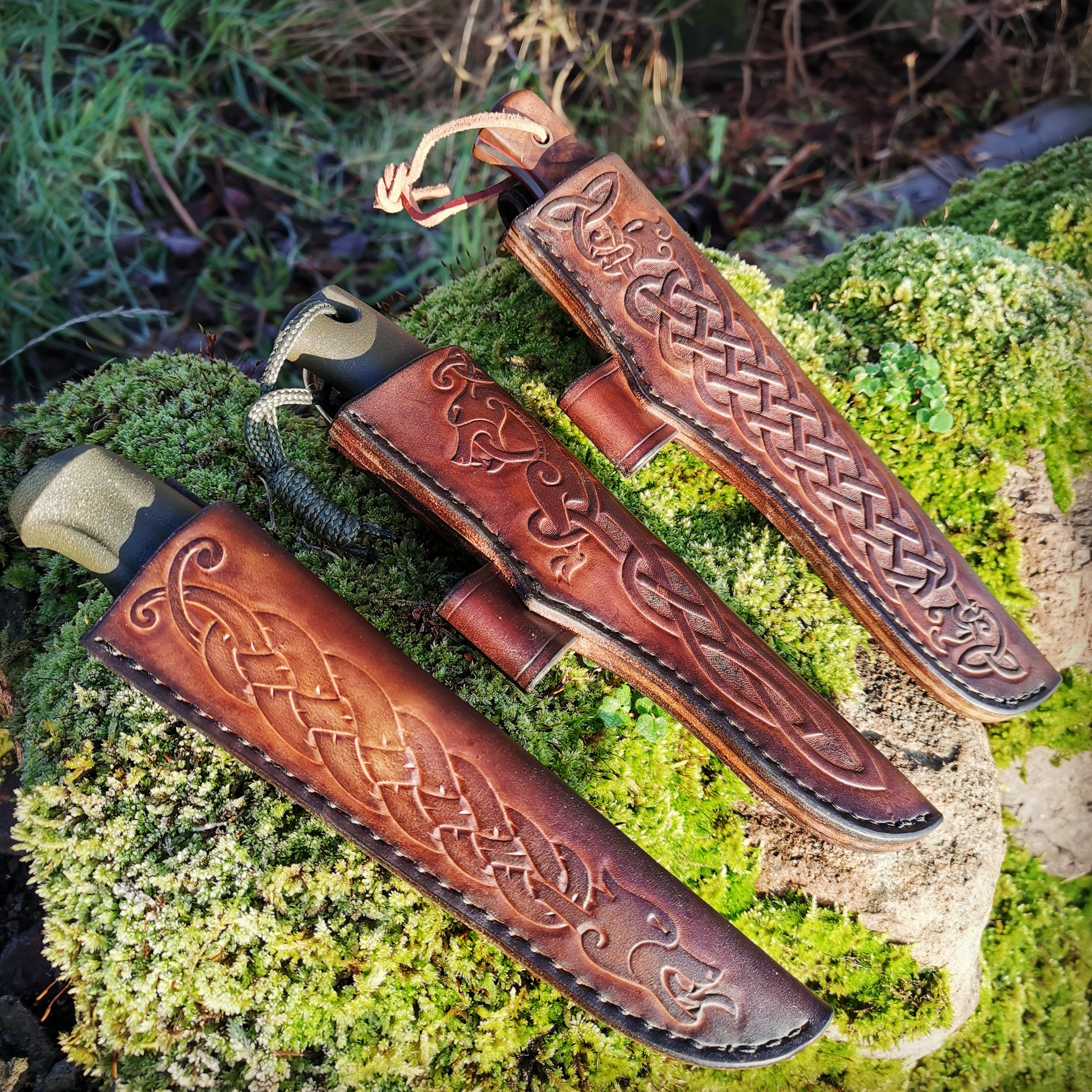 bushcraft knife sheaths