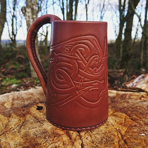 Viking Leather Tankard