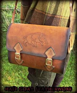 Pictish Boar Satchel