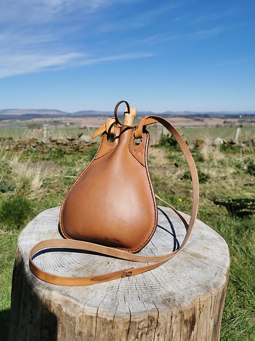 Leather Water Flask