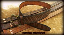 Tri-Weave Knot Belt