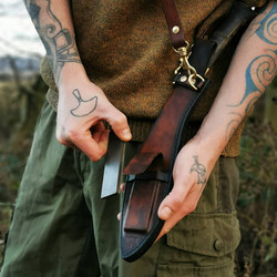bushcraft kukri sheath