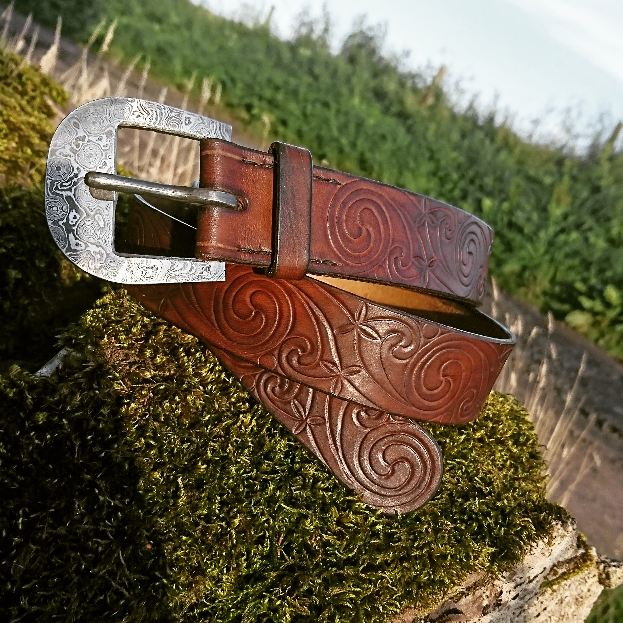 pictish spirals belt