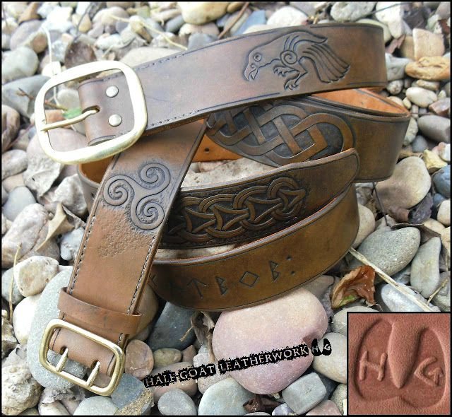 Knotwork Belts