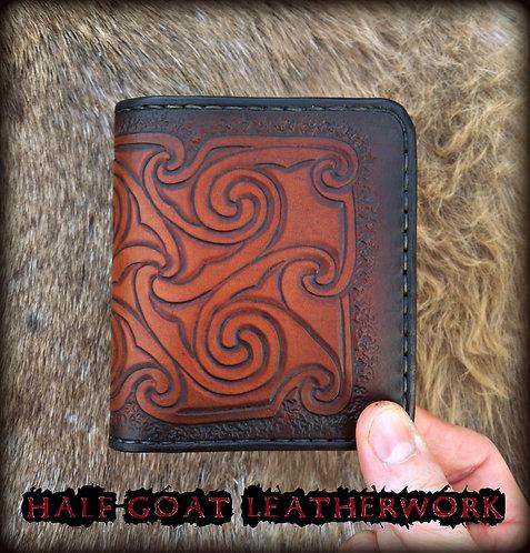 Pictish spirals wallet