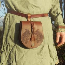 viking ravens pouch