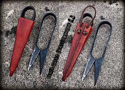 Viking Scissor Sheaths