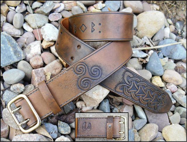 Celtic/Norse Triskele Belt