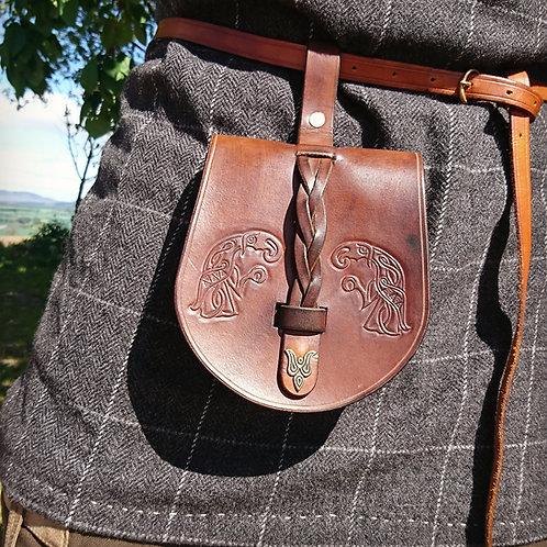 Viking belt pouches