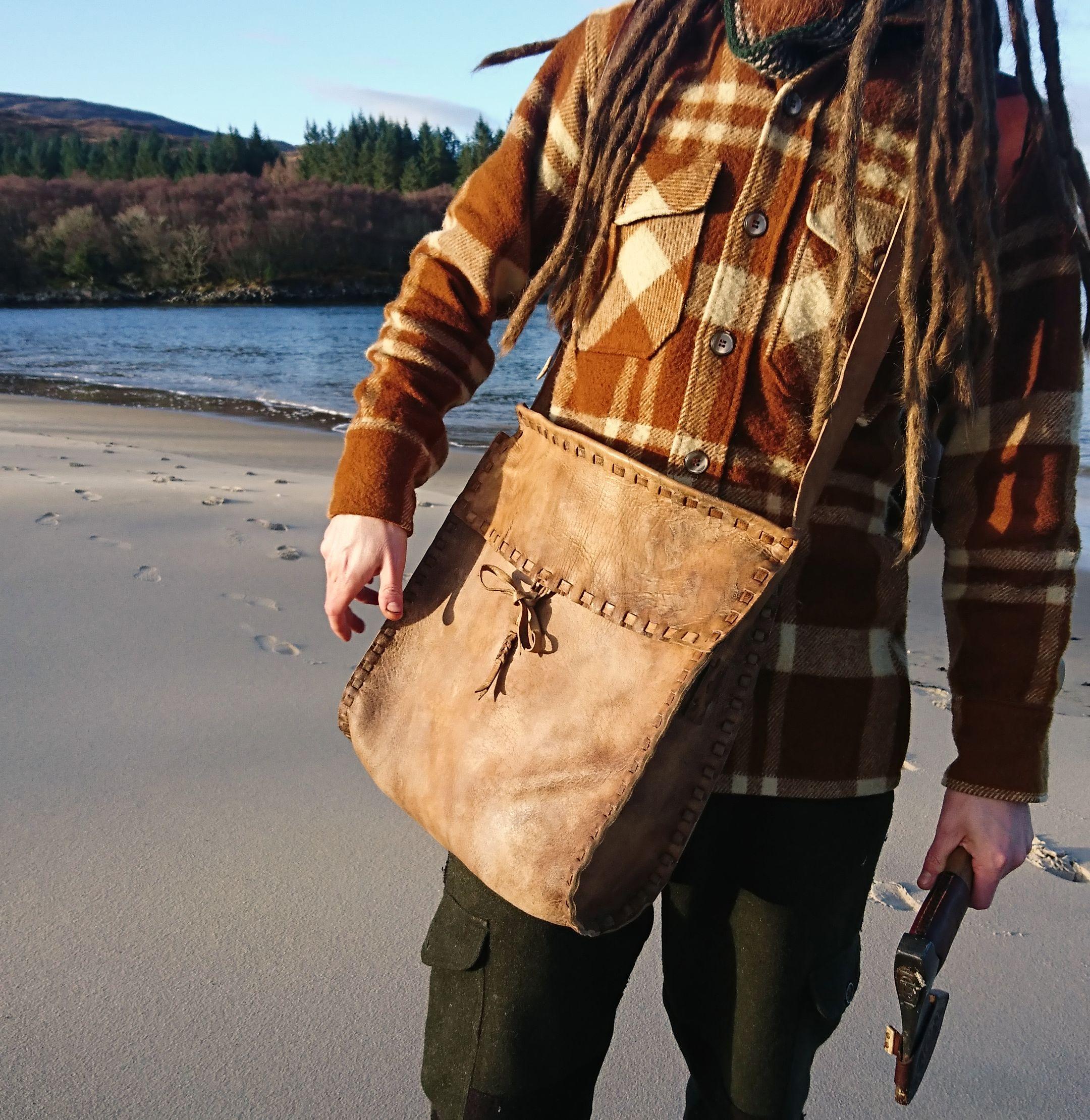 deerskin crannog bag
