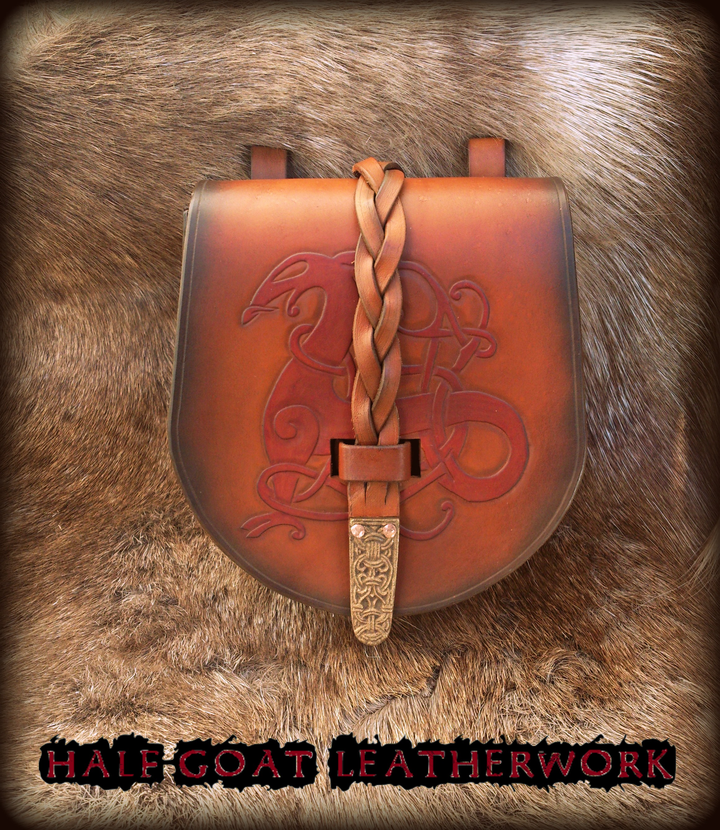 Viking Urnes Pouch