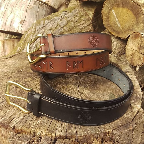 """Rune Belts """"not all those who wander are lost"""""""