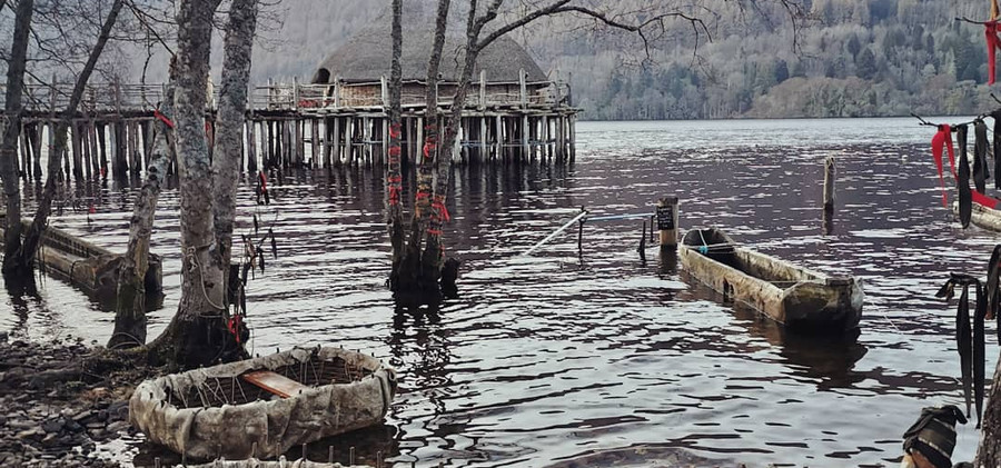 building coracles at the crannog center