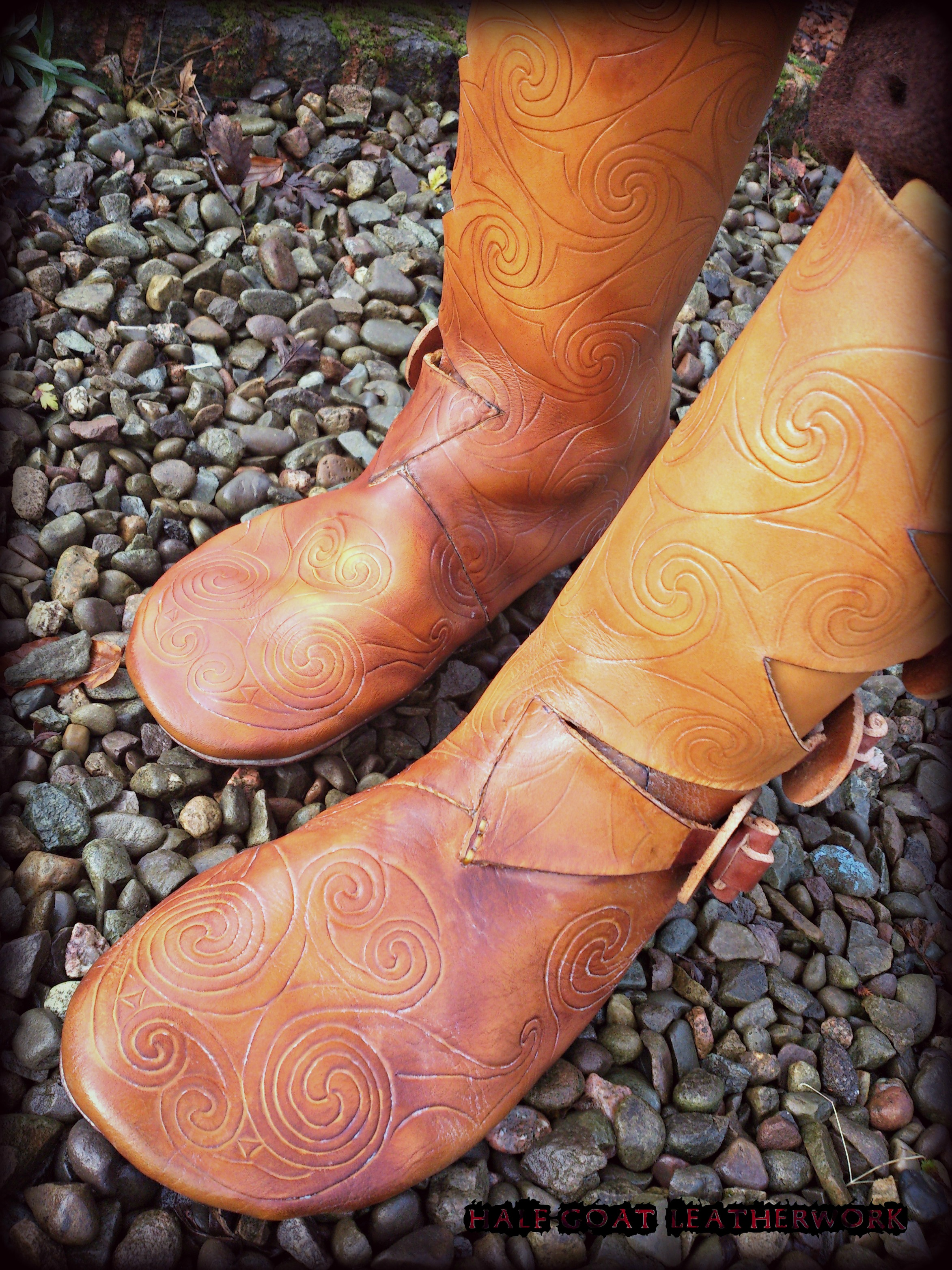 Pictish Boots