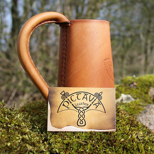Leather Tankard Plain