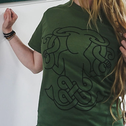 Pictish Mermaid Tshirt
