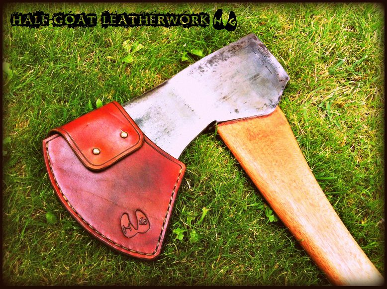 English Elwell Felling Axe Sheath